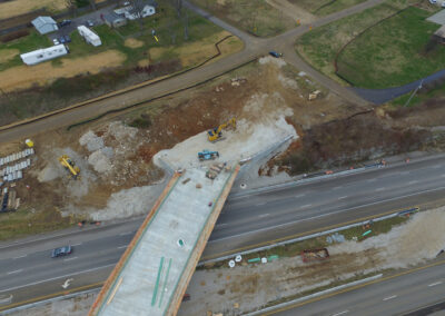 Aerial Construction Progress Indiana 13