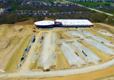 Aerial Construction Progress Indiana 18