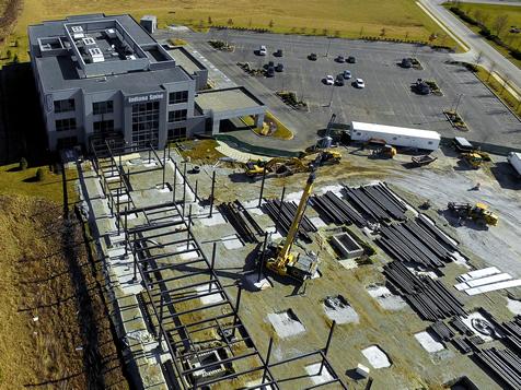 Drone Construction Progress