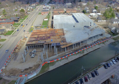 Aerial Construction Progress Indiana 20