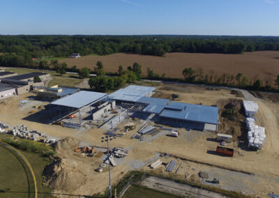 Aerial Construction Progress Indiana 21