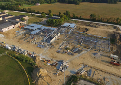 Aerial Construction Progress Indiana 5