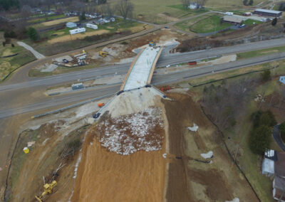 Aerial Construction Progress Indiana 6