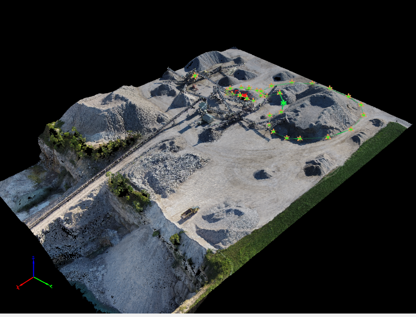 Aerial Data collection for 3D Modeling